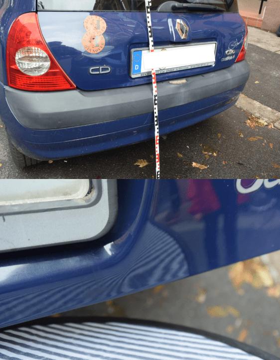 Schadensfall eines Kunden zur Referenz